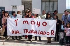 Celebración del 1º de Mayo 2013