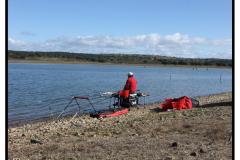Concurso de pesca 18/03/2012 Asociacion de Pescadores los Encinares