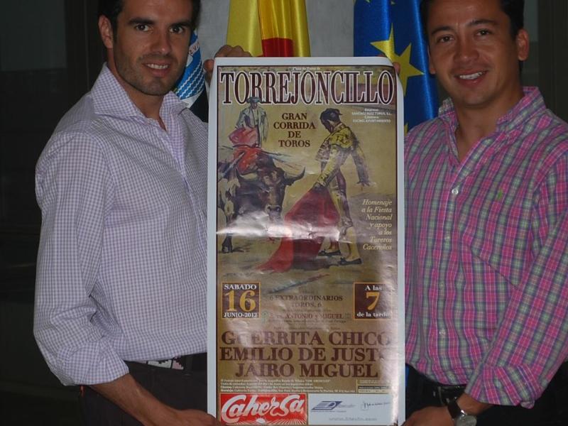 Presentación del Cartel en el Hotel Extremadura