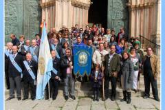 Hermanamiento Paladines de la Encamisá, Caballeros de Guadalupe 24/03/2012