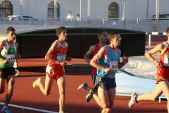 Mario Mirabel en el Campeonato de Extremadura de 5.000 m.l.