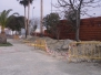 Obra de cerramiento del Polideportivo Municipal