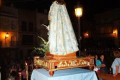 Ofrenda a María Inmaculada en Caballo 2011