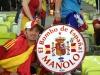 """Antonio \""""el de La Ola\"""" con El Bombo de Manolo"""