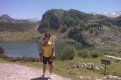 Viaje en bicicleta desde Torrejoncillo a los Lagos de Covadonga - 2010