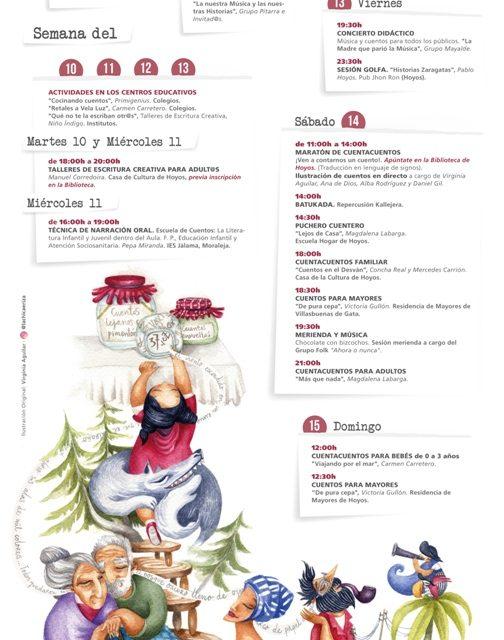 Esta semana comienza en Hoyos la VII edición del Extremacuentos con música y talleres sobre tradición oral