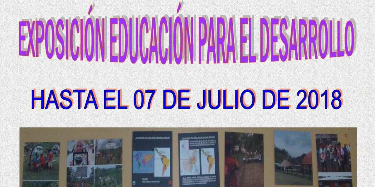 Exposición Educación para el Desarrollo Fundación MUSOL