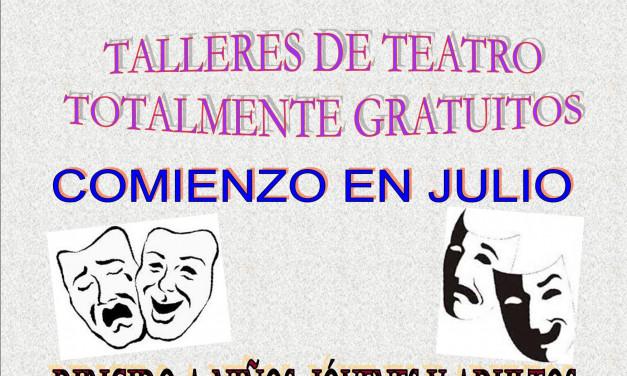 Talleres formativos de Teatro 64 Festival Internacional de Teatro Clásico de Mérida