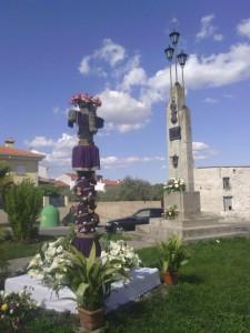 Cruz del Pilar, situada en la Plaza de La Encamisá - ÁNGEL LUIS HERNÁNDEZ (FOTOMAX)