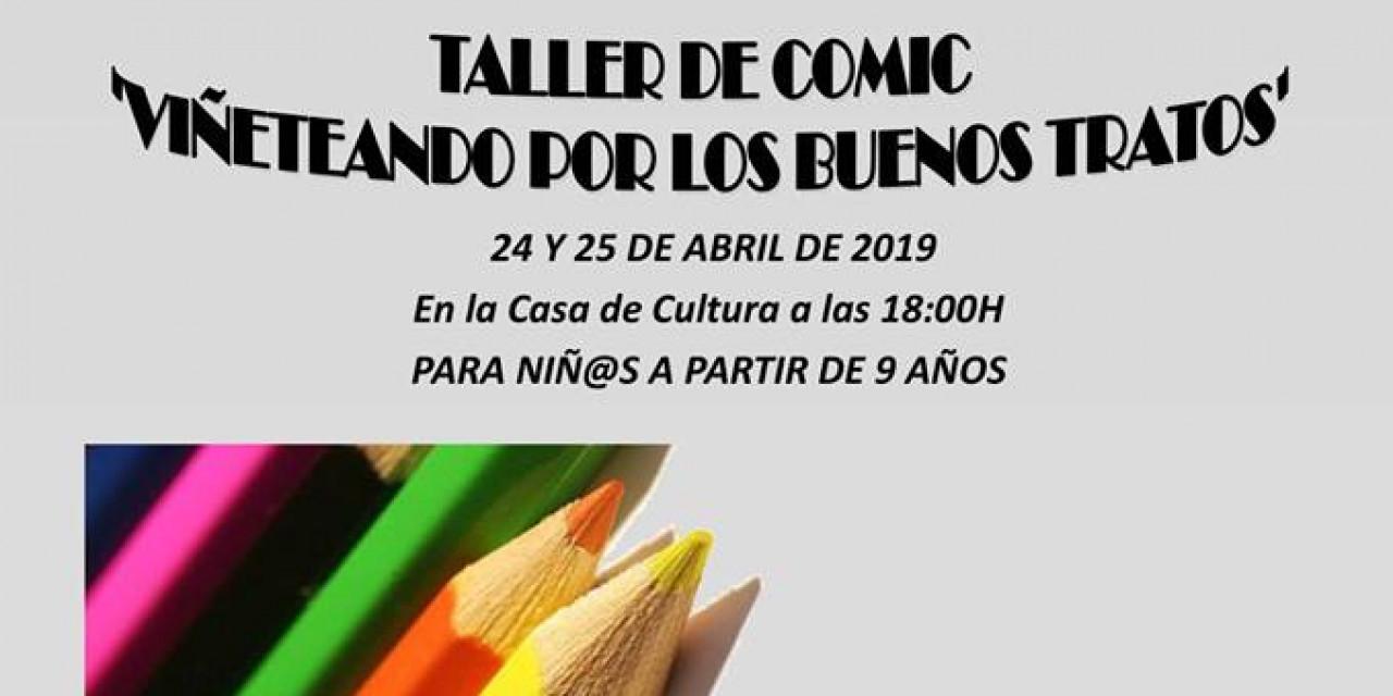 24 y 25 de Abril – Taller de cómic «Viñeteando por los buenos tratos»