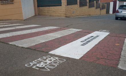 Pasos de Peatones con mensaje