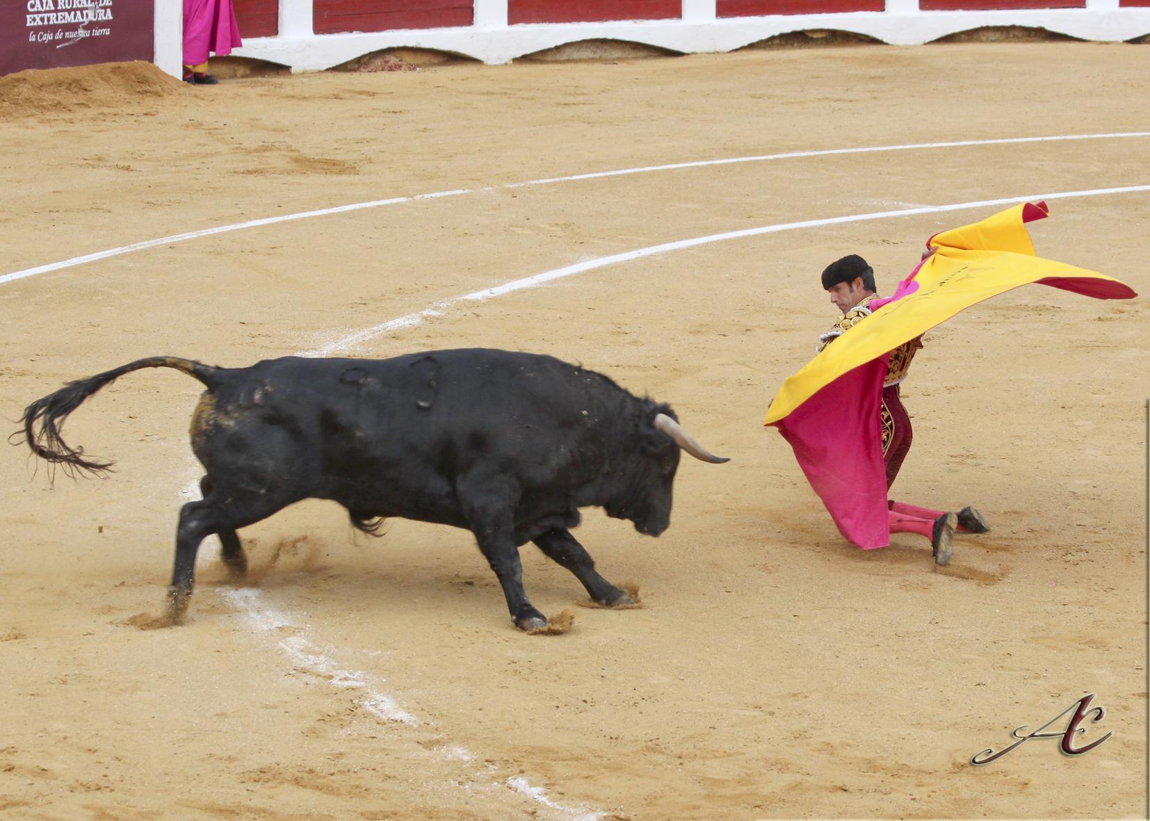El peor de los lotes para Emilio de Justo en su 10º aniversario como matador de Toros
