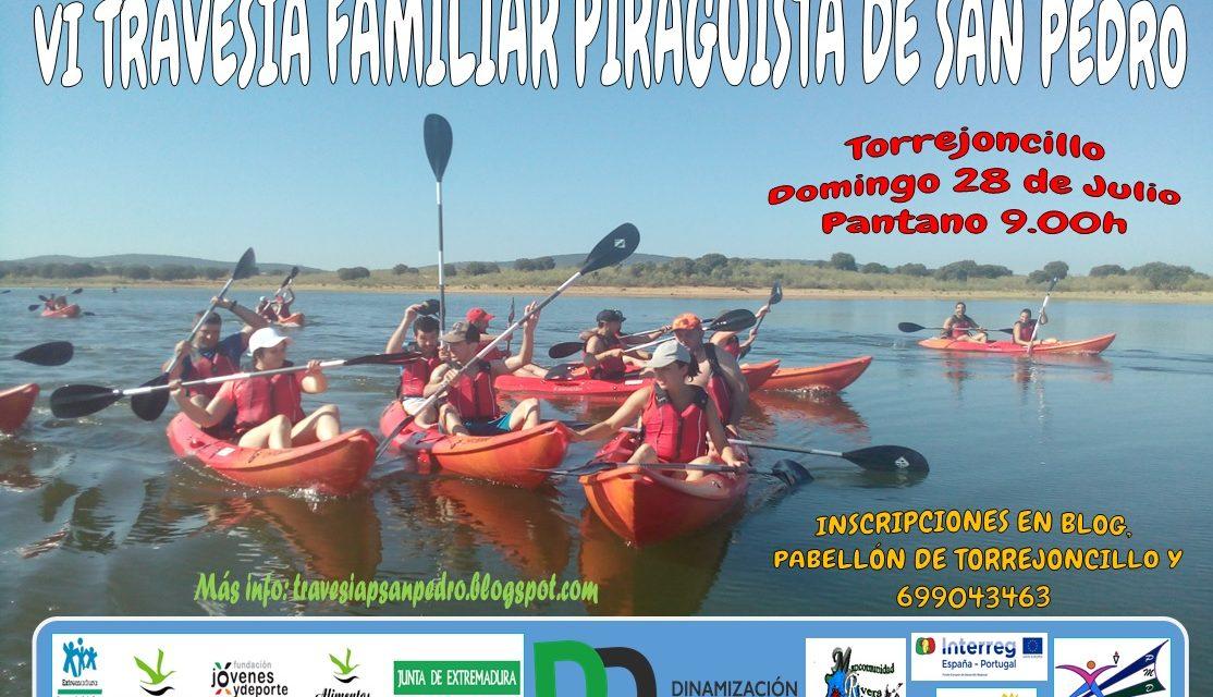 VI Travesía Familiar Piragüista de San Pedro