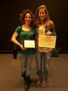 Diosela Freixo y Mara Nuñez acudieron a la entrega de premios en representación de Jachas Teatro - JACHAS TEATRO