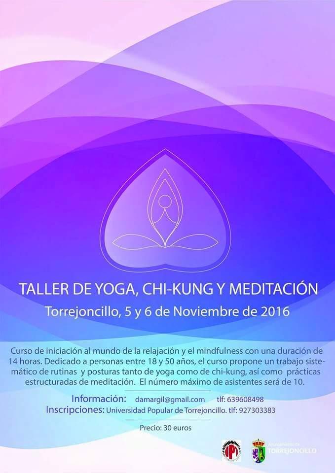 Taller de Yoga, Chi-kung y Meditación