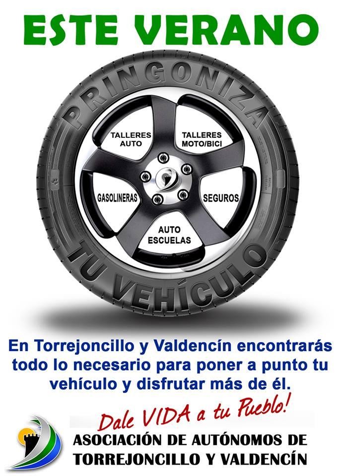 Pringoniza tu  vehículo