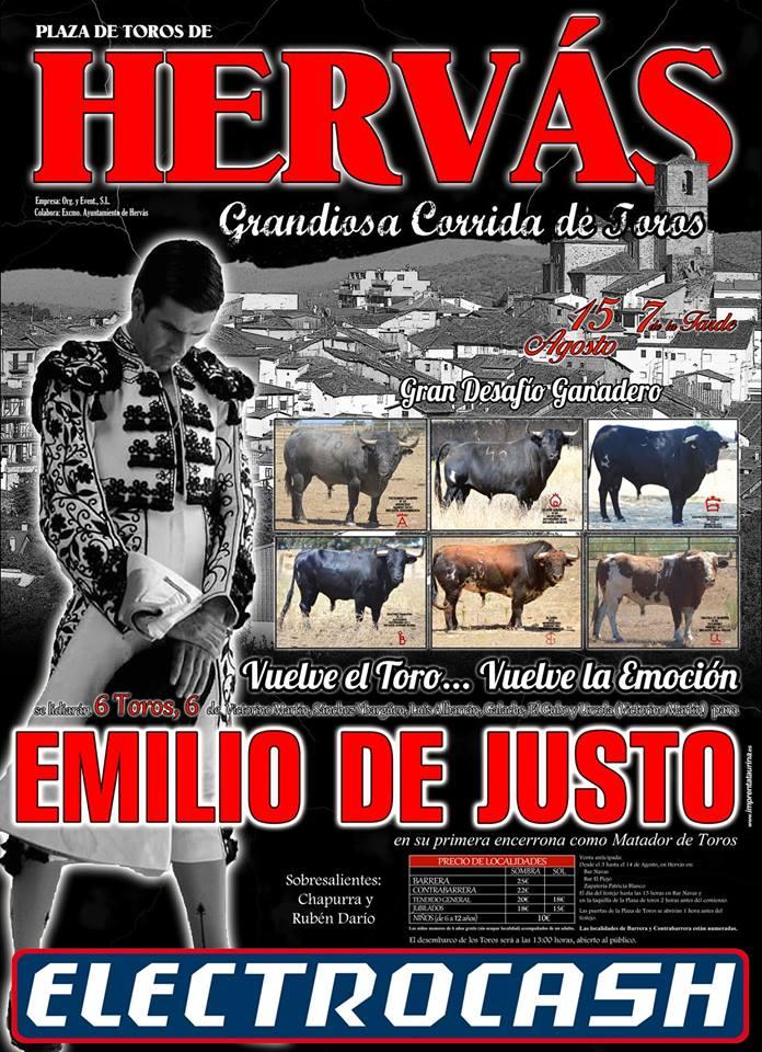 6 Toros 6 para Emilio de Justo