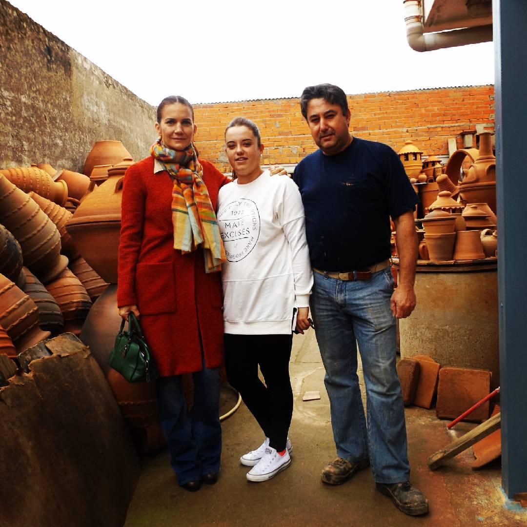 La Chef Samantha Vallejo-Nágera en Torrejoncillo