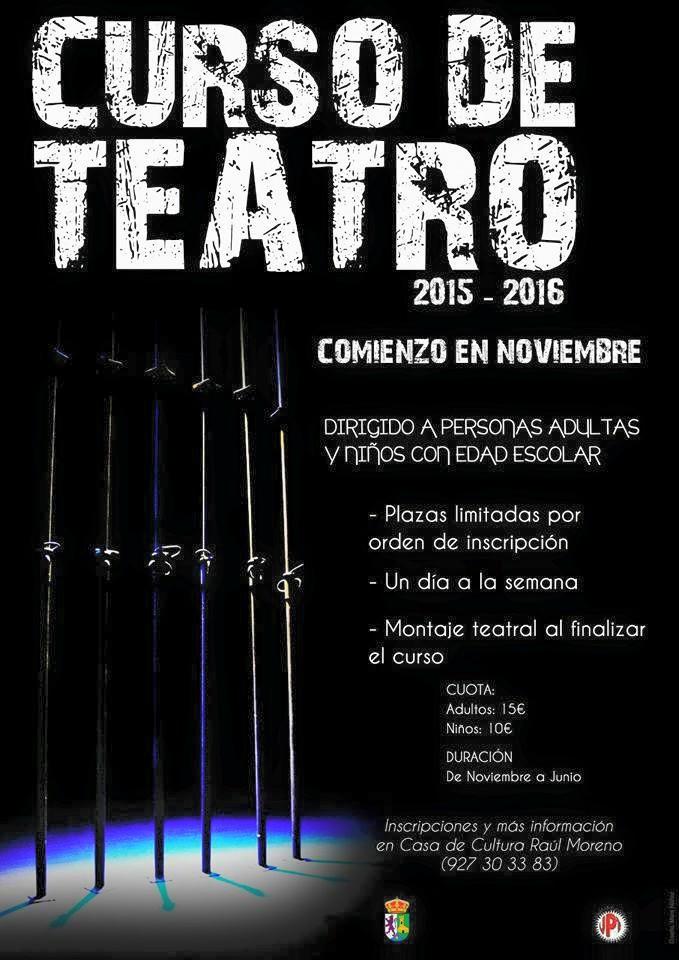 Comienza un nuevo Curso de Teatro