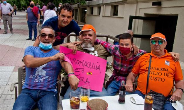 Manifestaciones  en defensa de la Tauromaquia