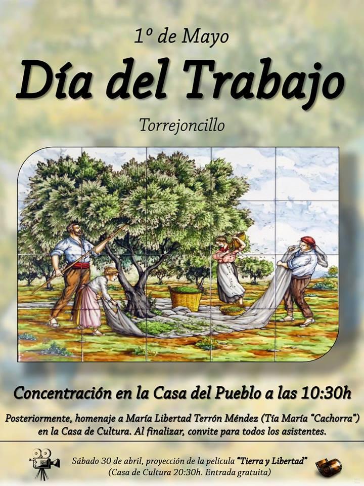 Celebración del 1 de Mayo, Fiesta del Trabajo