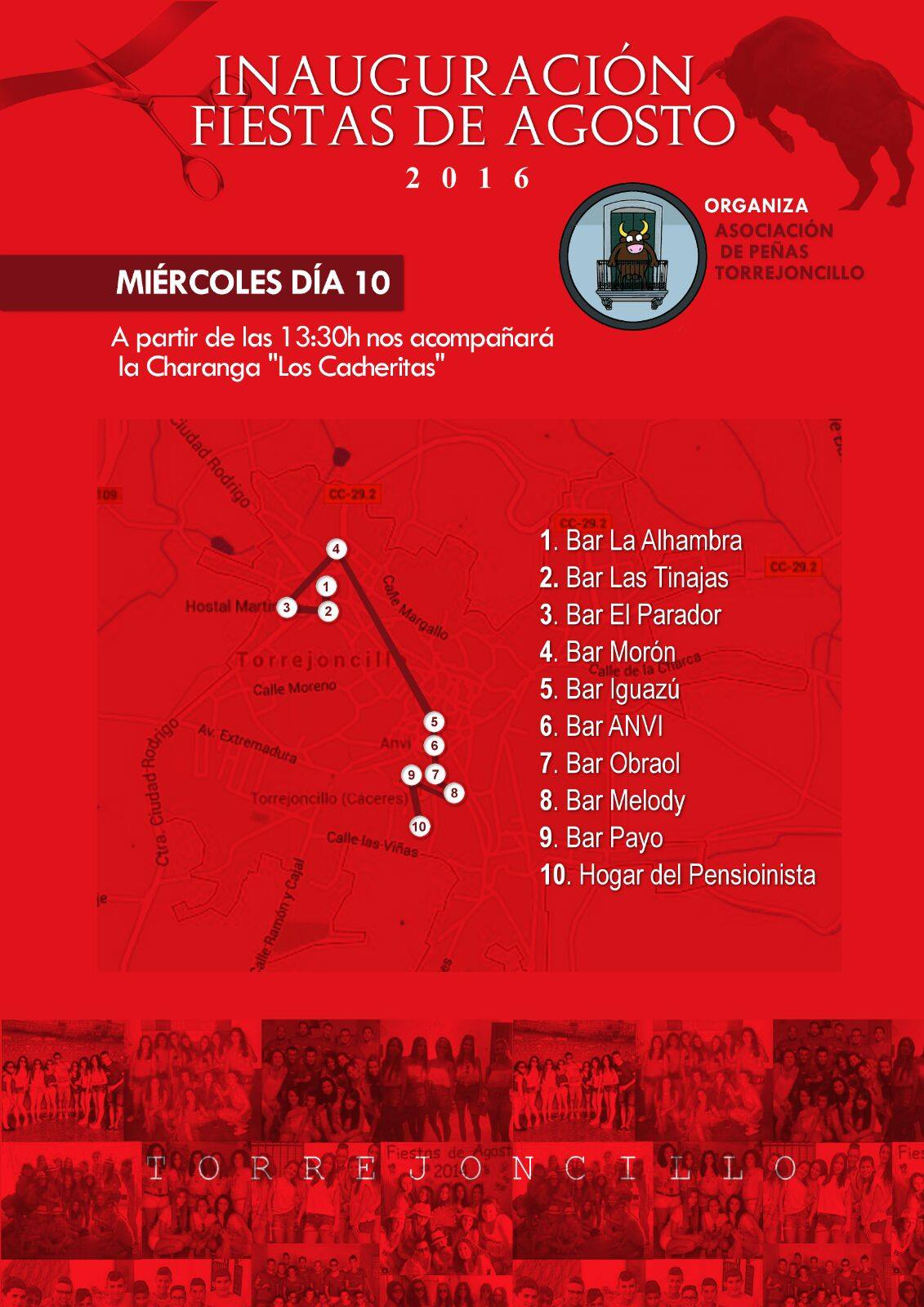 «Ruta Barítima» de la Asociación de Peñas Torrejoncillanas