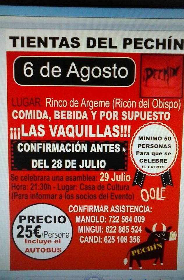 Tientas de la Peña «El Pechín»
