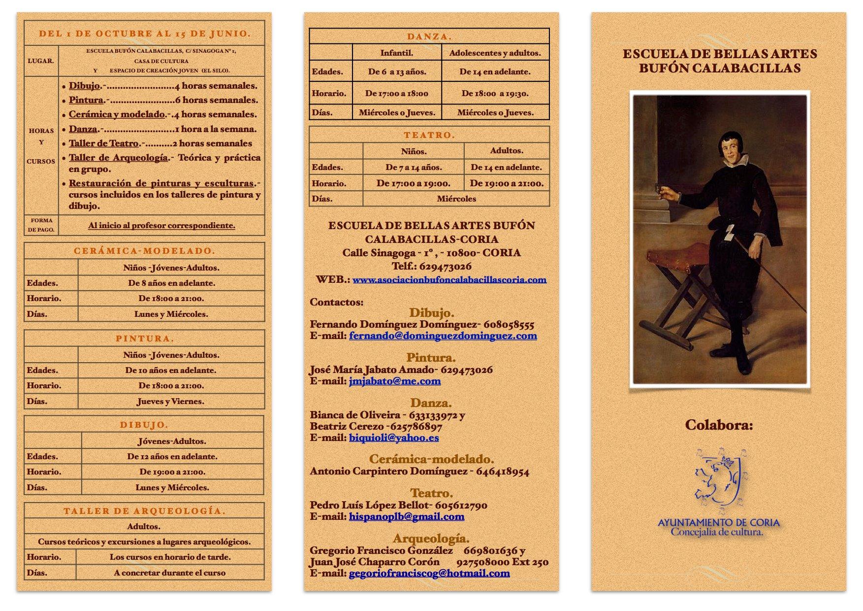 Curso de Teatro en la Asociación «Bufón Calabacillas» de Coria