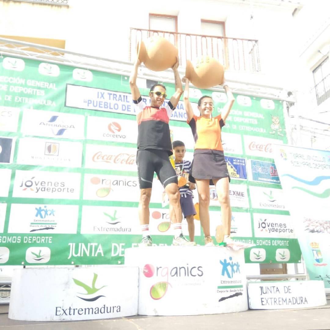 Ganadores IX Trail Artesanos 2016