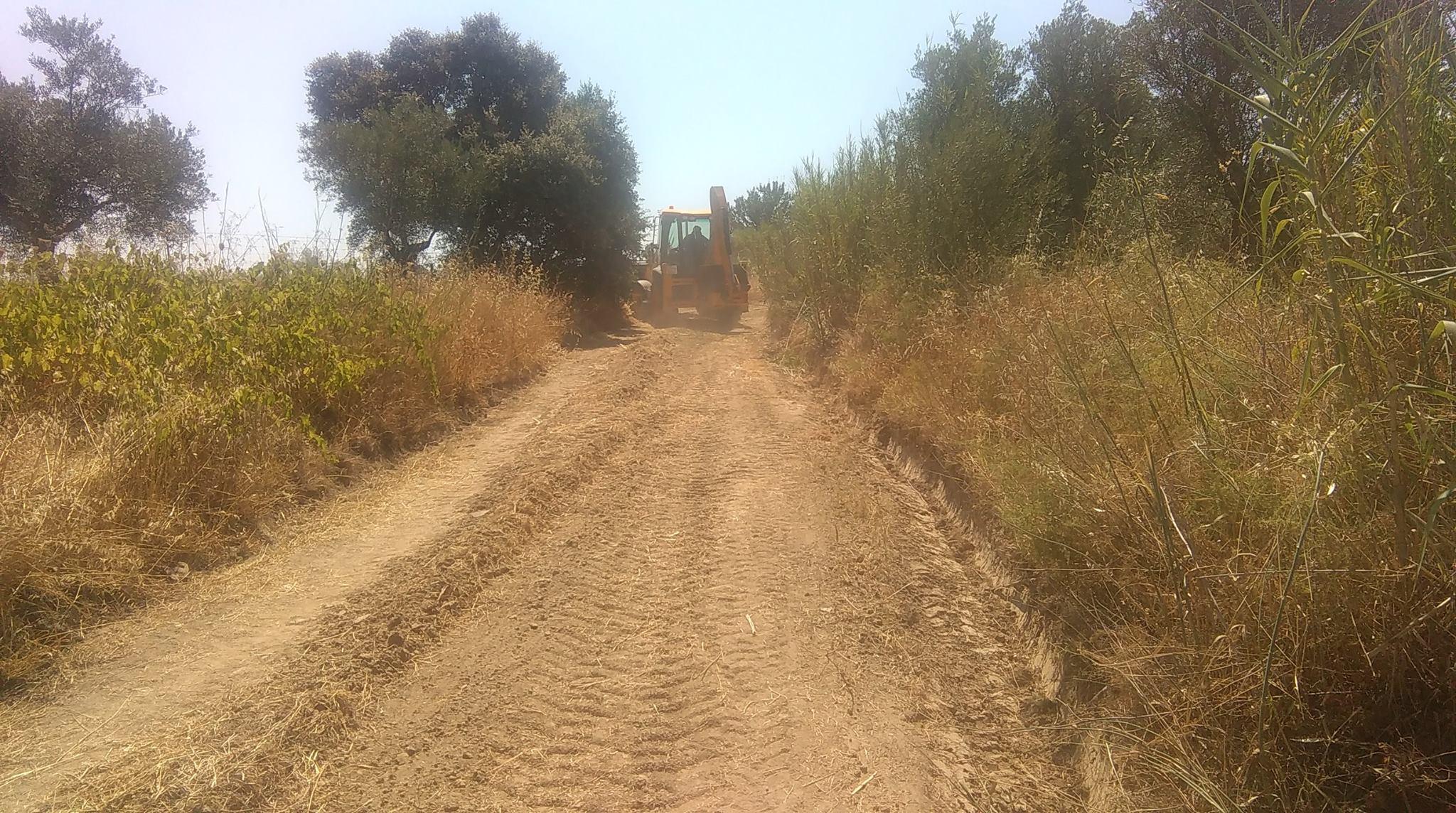 Arreglos de caminos de nuestro término municipal