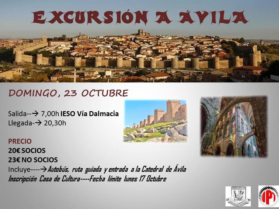 Excursión a Ávila