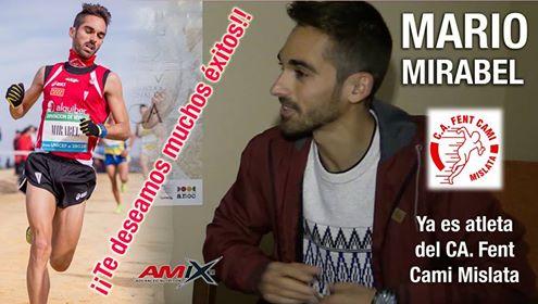 Mario Mirabel ficha por el Fent Camí Mislata