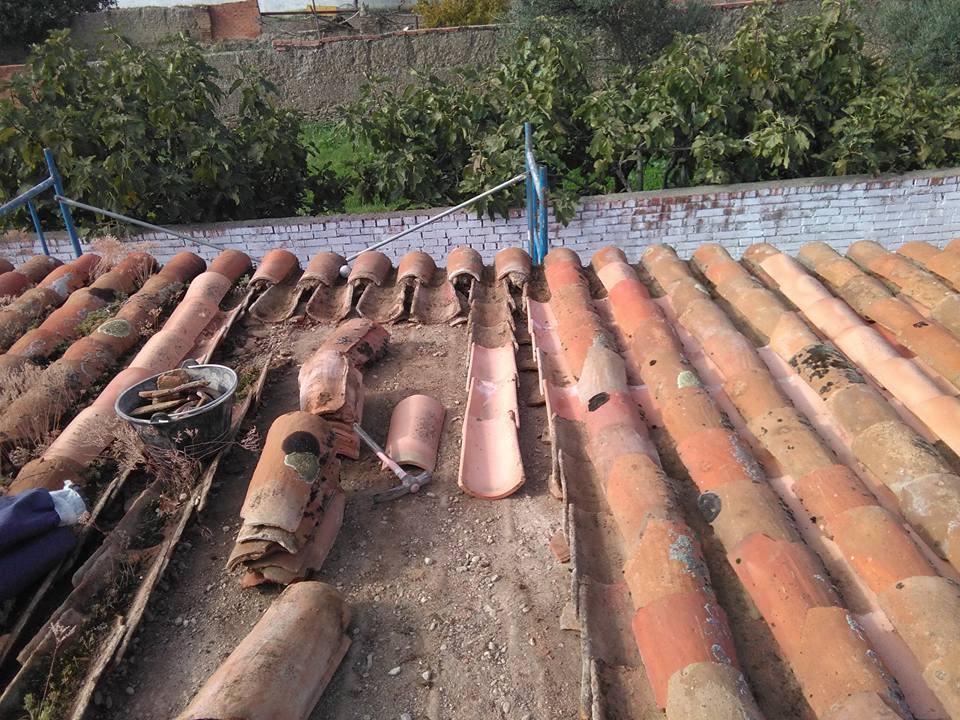 Reparaciones en el Centro Joven de Torrejoncillo