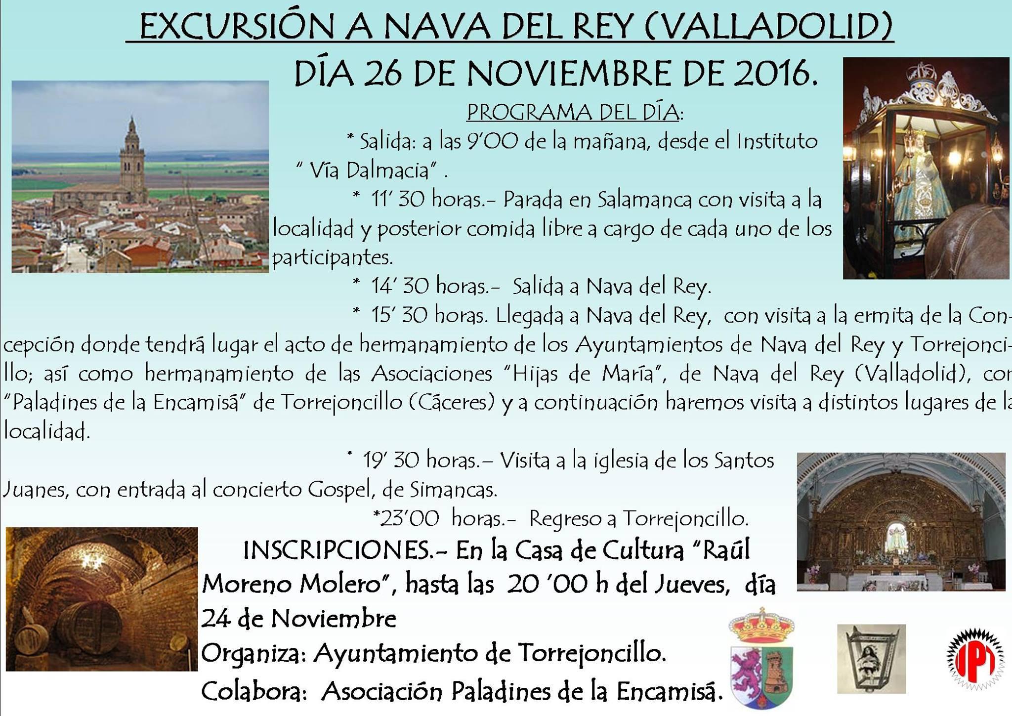 Excursión a Nava del Rey (Valladolid)