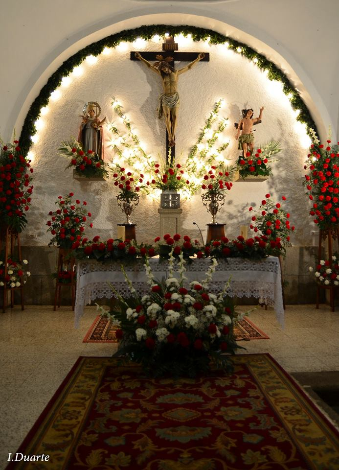 Portezuelo celebra sus fiestas en honor a San Sebastian y San Fabian