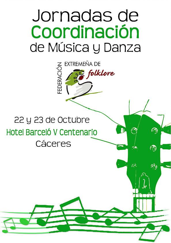 Jornadas de Coordinación de Música y Danza