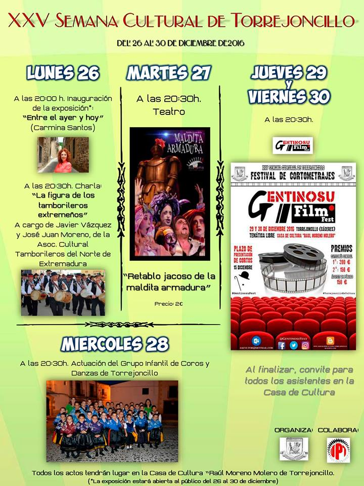 XXV Semana Cultural de Torrejoncillo