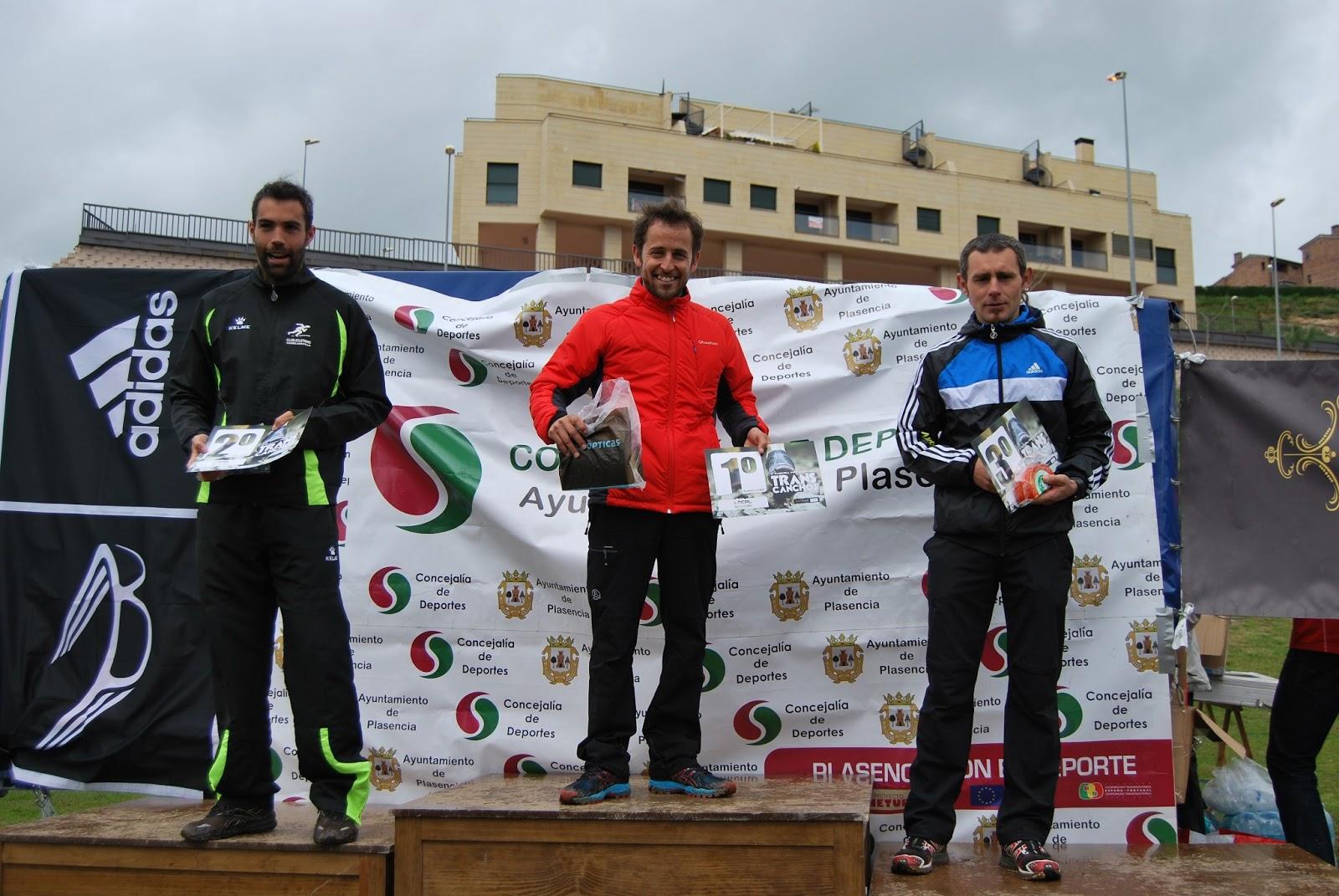 Kiko Lázaro subcampeón en la II Transcanchos placentina