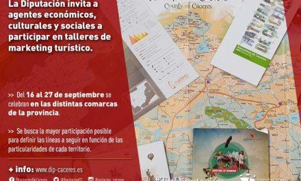 TALLERES DE MARKETING TURISTICO