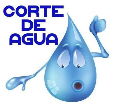 Corte en el suministro de Agua