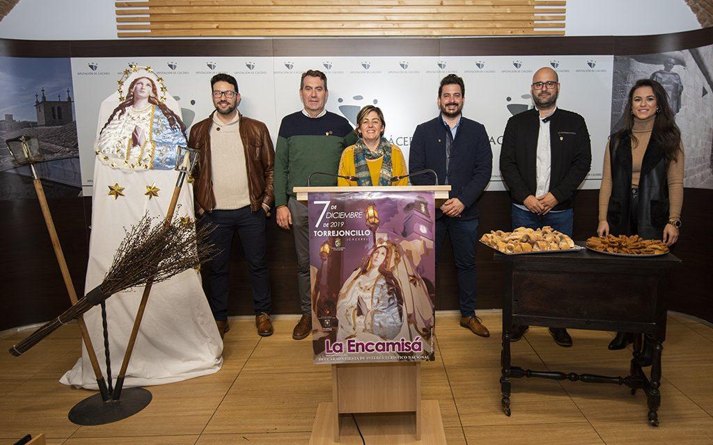 """Más de 10.000 personas visitarán """"La Encamisá"""" de Torrejoncillo"""