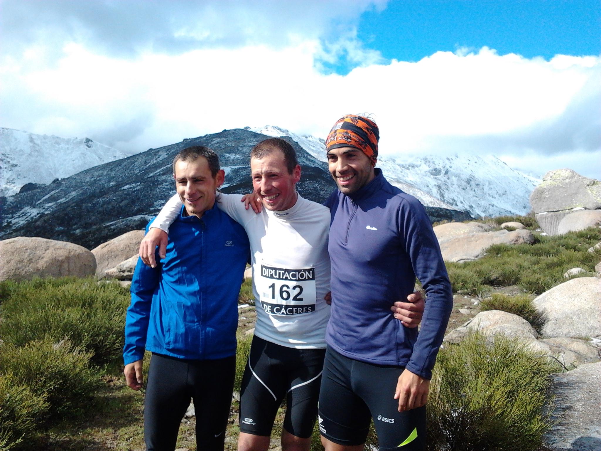 Kiko Lázaro se proclama subcampeón del I Kilómetro Vertical «Trofeo Diputación de Cáceres»