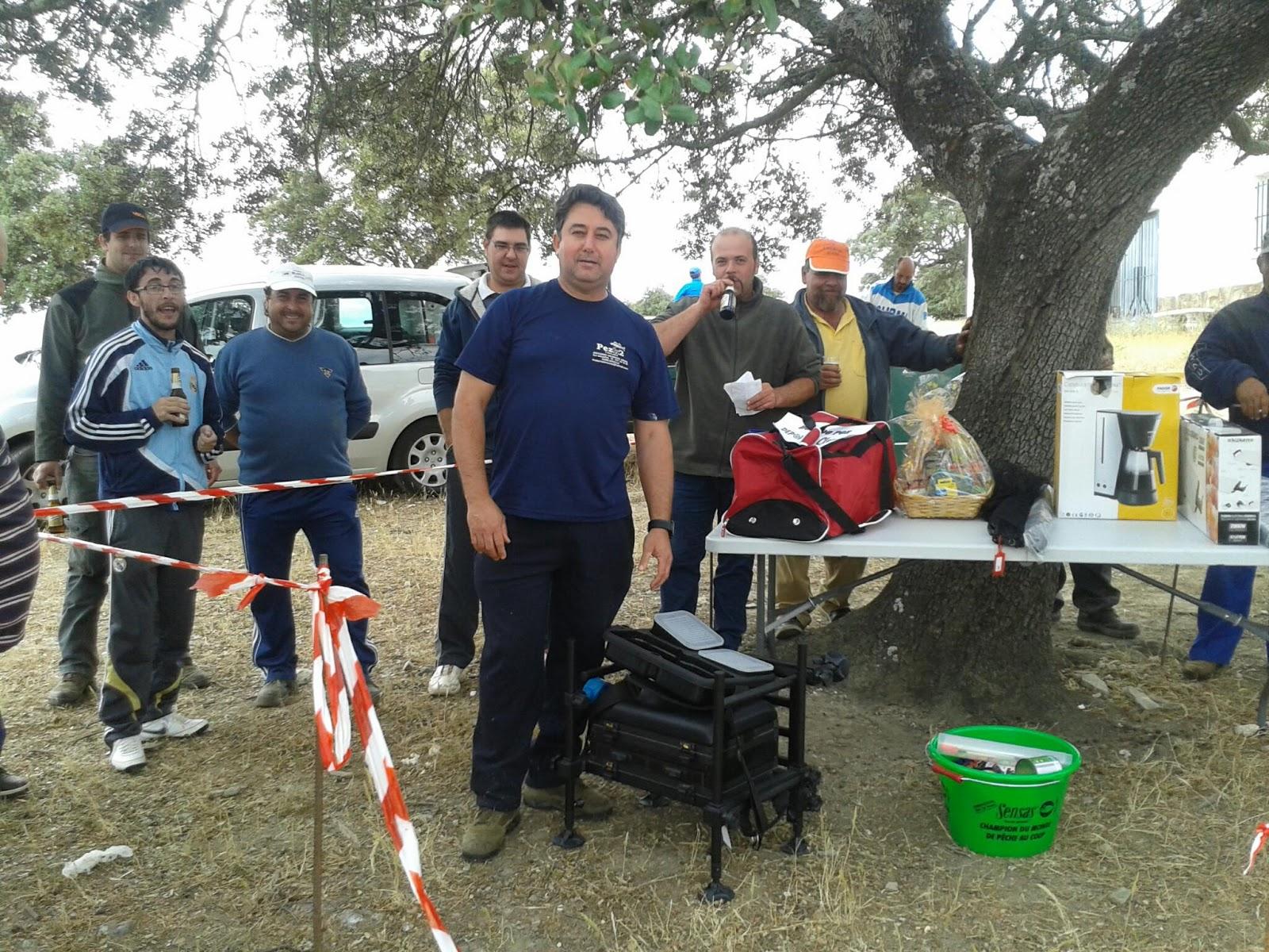 Antonio Moreno Arias vence un IV Concurso de «Los Encinares» con pocas capturas