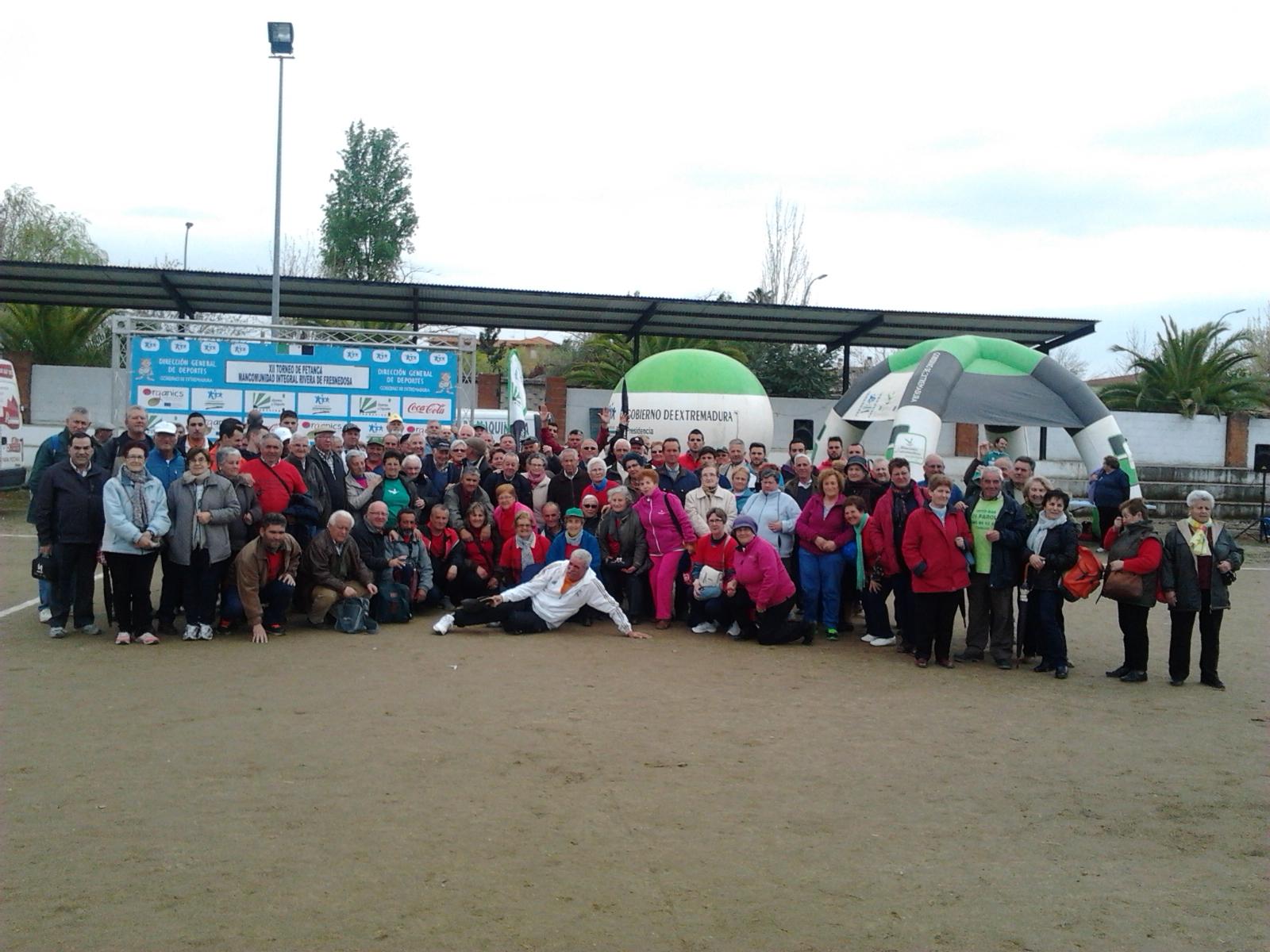 130 petanquistas disfrutaron del XII Torneo de Petanca de la Mancomunidad Rivera Fresnedosa Recibidos x