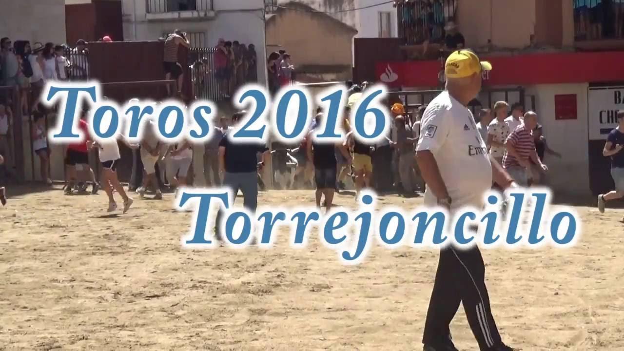 Vídeo toros 2016 Torrejoncillo
