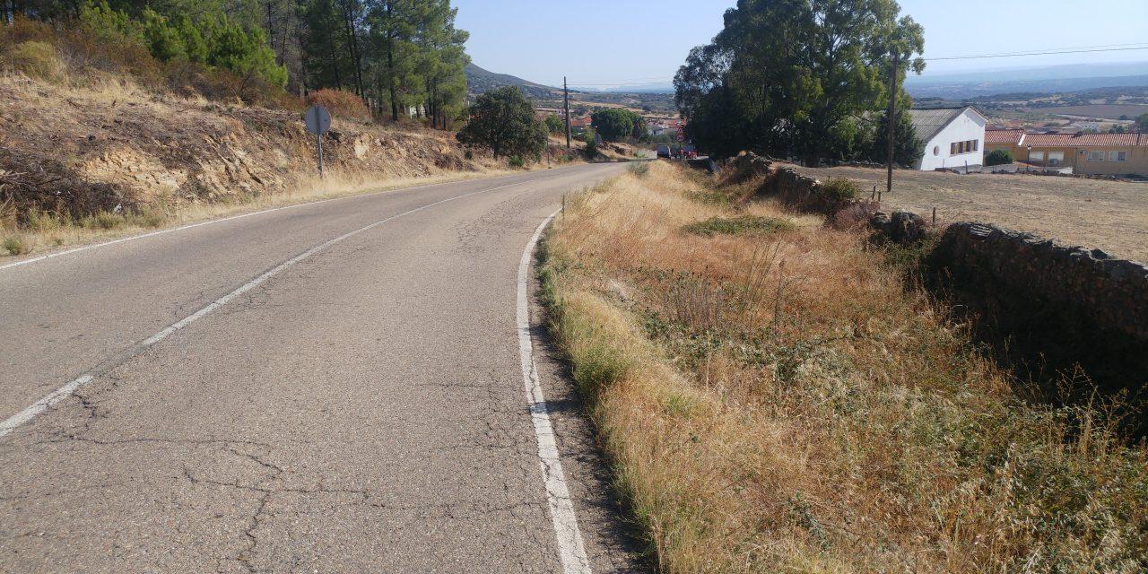La Diputación rehabilitará y ampliará el ancho de la CC-30 a Casas de Millán