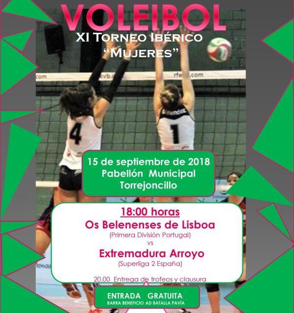 15 de Septiembre – XI Torneo ibérico «Mujeres» de voleibol