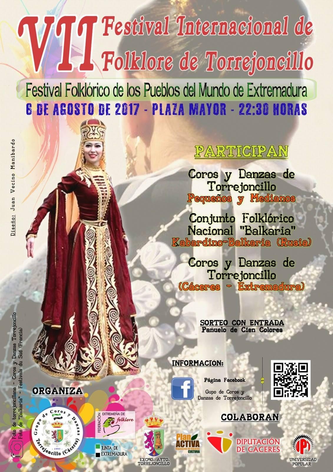 VII Festival Internacional de Folklore de Torrejoncillo