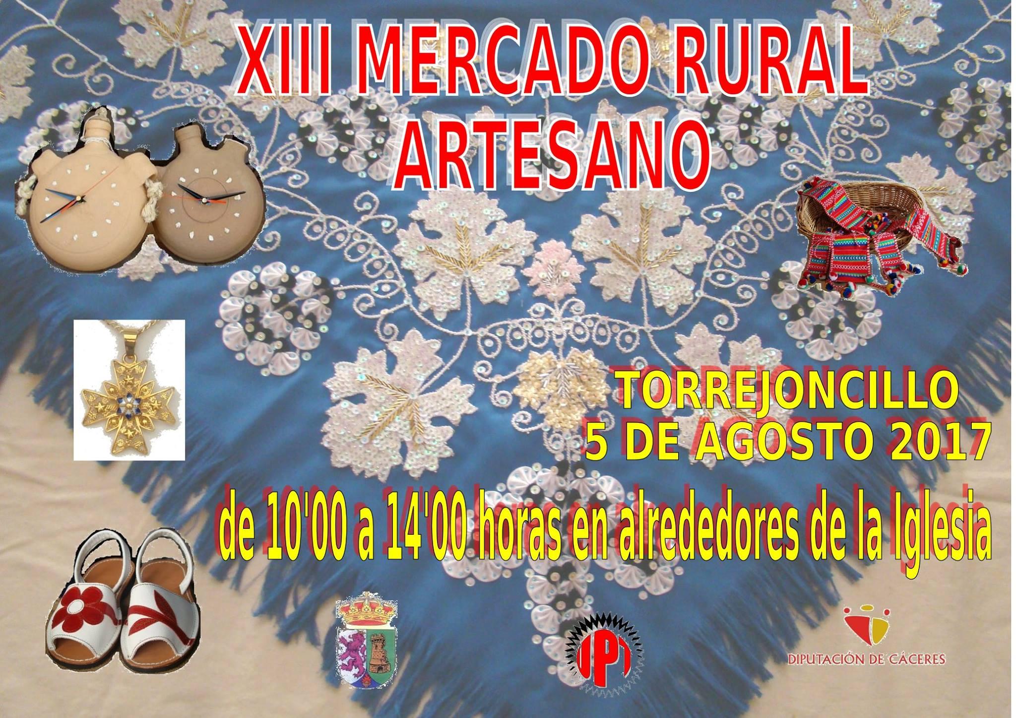 XIII edición del Mercado Rural Artesano de Torrejoncillo