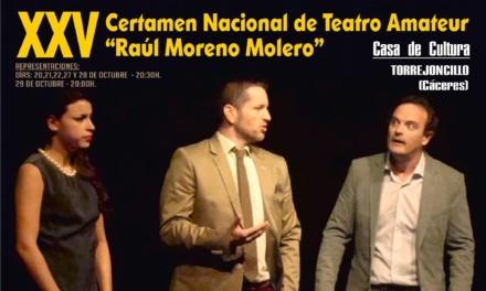 """XXV Certamen Nacional de Teatro Amateur """"Raúl Moreno Molero"""""""